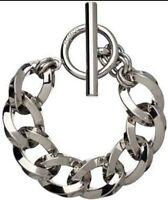 💖 Mimco Silver Nebula Chain Wrist Bracelet + Dust Bag