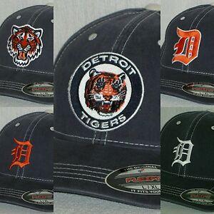 "Detroit Tigers ""FLEX FIT"" CAP ⚾HAT ⚾️CLASSIC MLB PATCH/LOGO⚾️2 SIZES ⚾️NEW"