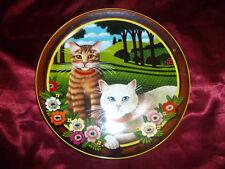 Uncle Tad's Cats Thaddeus Krumeich PEACHES & CREAM COLLECTOR PLATE Anna Perenna