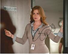 Hand Signed 8x10 photo AMY ADAMS BATMAN v SUPERMAN - Lois Lane + my COA