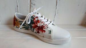 Laguna Quays Cloff Floral Lace Up Ladies Shoes BRAND NEW