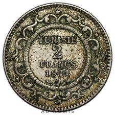 2 francs 1911 A Paris Tunisie - Argent