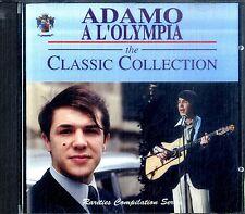 ADAMO A L'Olympia - Classic Collection CD Ottime Condizioni