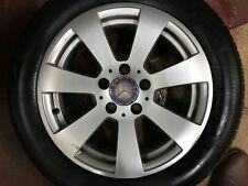 """Genuine OEM Mercedes Benz Classe C W204 S204 16"""" lega ruota di scorta A2044011102"""