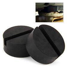 2pcs Car Jack Disk Rubber Pad Trolley Frame Floor Adapter Pinch Weld Side