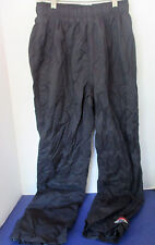 COLUMBIA~OMNI-TECH Black Mesh lined PACKABLE NYLON PANTS~Women's Medium