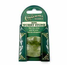 Irish Connemara Marble Worry Stone!  Solid Irish Connemara Marble w/ Gift Box!
