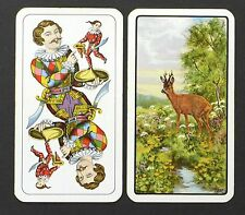 Vintage Piatnik Nr 1905 Jagd Hunter Tarock Tarot Playing Cards Deck