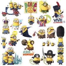 MINIONS MOVIE wall stickers 16 large decals room decor decoration Despicable Me