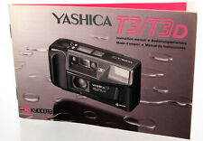 Yashica T3/T3D Bedienungsanleitung | Instruction manual (4 languages) - 37081