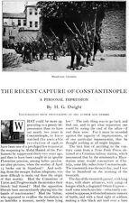 Capture of Constantinople ISTANBUL Mehmet V ABDUL HAMID Turkey H G DWIGHT 1909
