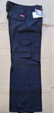 Womens Hard Yakka Generation Y Cotton Drill Cargo Pants Size 10 Black #y08850