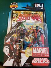 Marvel Universe 3.75 Storm/Nightcrawler Comics Packs