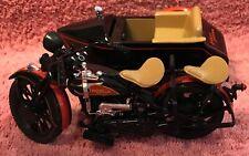 1933 Harley-Davidson Collectible Motorcycle/Sidecar Bank 1:12 Scale NIB