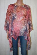 MEIN DESIGN Lagenlook de Mallorca Tunika TU S M L 36 38 40 Pink Shirt Top 15196