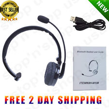 Wireless Blue Parrot Headset Truck Driver Noise Cancelling Bluetooth Headphones-