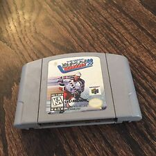 Wayne Gretzky's 3D Hockey 98 Nintendo 64 N64 Game Cart Works NE5