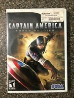 Captain America: Super Soldier (Nintendo Wii, 2011) Clean & Tested Working