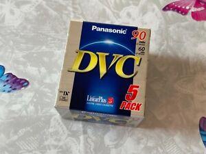 5-Pack Panasonic DVC 90  • Neu in Folie • MiniDV Kassetten