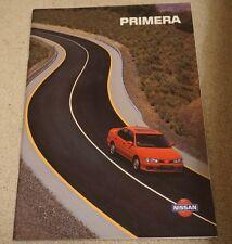 Glossy Nissan Primera 1994 1995 1996 UK Brochure Precision LX SLX SRi SE GT Rare