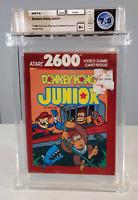 Donkey Kong Jr. Junior - Graded Wata 7.0 Sealed B+ Atari 2600 1988 USA