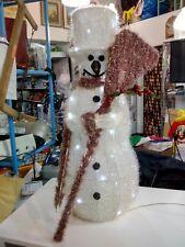 Omino di neve alto 62 cm illuminato