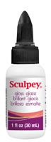 SCULPEY GLOSSY GLOSS GLAZE VARNISH - for fimo & sculpey polymer clay 30ml