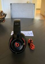 Beats by Dr Dre Studio 2 Black and Red Headphones With Original Red Cord
