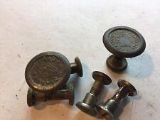 Richardson, Diamond, hand saw medallions & 4 screws, vintage______________A-38a