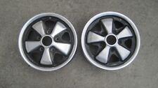 "PORSCHE  FUCHS Wheels 911/912/914-6 Original Wheels 1970 14"" x 51/2"" GERMAN PAIR"