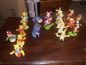 Winnie The Pooh Disney Figurines Mixed Lot