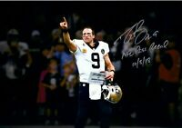 DREW BREES Autographed Signed 8x10 Glossy Photo New Orleans Saints - REPRINT