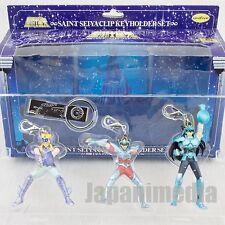 Saint Seiya Figure Keyholder 3pc Set Pegasus Seiya Dragon Shiryu Cygnus Hyoga