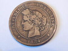 MONNAIE FR / French coin - 10 CENTIMES - CERES - 1884 A - F.135/28