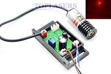 18x45mm 150mW 650nm Red Laser Module w TTL Dot Ray LED Lights 12V w TTL