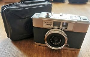 YASHICA MIMY f/2.8 AUTO VINTAGE HALF FRAME 35MM FILM CAMERA, GREAT CONDITION!