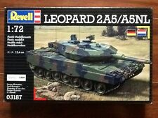REVELL 1/72 GERMAN LEOPARD 2A5 / A5NL PLASTIC MODEL KIT # 03187 FACTORY SEALED