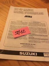 Suzuki JR50J JR50 J JR 50 instruction preparation setup manuel montage set-up