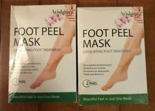 2 pairs Arishine Exfoliating Peel Foot Masks   Remove Callus Hard Skin