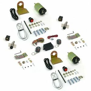 35lbs Remote Shaved Door Popper Kit with Poppers AutoLoc AUTSVPRO34K hot rod