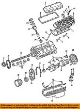 GM OEM-Engine Timing Cover 12561062