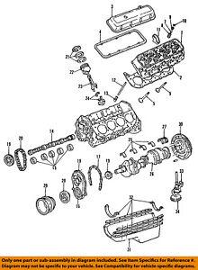 GM OEM-Engine Crankshaft Crank Main Bearing 12529885
