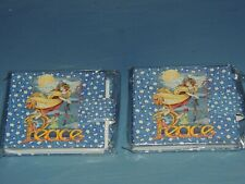 """2 Mary Engelbreit Peace Angel Mini Photo Album For 3"""" X 2 7/8"""" Pictures 24"""