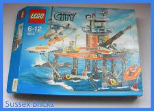 Lego City Town - 4210 - Coast Guard Platform - Complete Boxed VGC