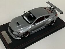 1/18 Toyota Lexus RC Pandem Liberty walk in Silver  N BBR  MR