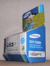 Original Samsung CLP-C300A  Toner cyan für CLP-300 CLX-3160 CLX-2160 OVP B