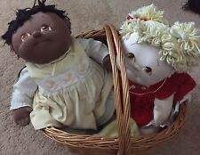 Large Set Of 22 X 12 Dolls Ships W/O Wicker Basket