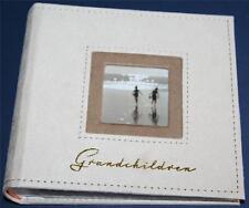 """GRANDCHILDREN Photo Album 6"""" x 4"""" Holds 100 photos - Grandparents Gift"""