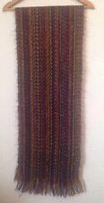 Bufanda de Punto Unisex Con flecos multicolores < BC720
