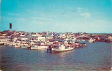 """Fishing Dock, Showing """"Answer"""" Fishing Boat,& Other Boats, Ocean City ,Maryland"""